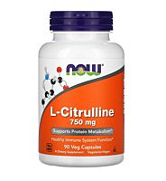 NOW Foods L-Citrulline 750mg, 90 Capsules