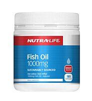 Nutra-Life Omega 3 Fish Oil 180 Capsules