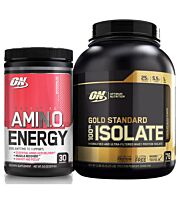 Optimum Nutrition GS Isolate + Amino Energy