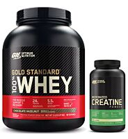 Optimum Nutrition GS Whey 5Lb + Creatine 300g