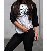 NZ Muscle 3/4 Raglan Top