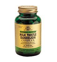 Solgar Milk Thistle Dandelion Complex