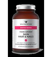 Food-Grown Skin Hair & Nails 60 Capsules