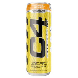 C4 ORIGINAL CARBONATED RTD'S 355ML, 6 CANS