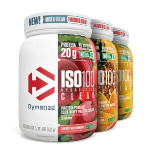 Dymatize ISO100 Hydrolyzed Clear