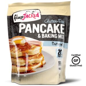 FlapJacked Protein Pancake Mix, 24oz Gluten Free Buttermilk