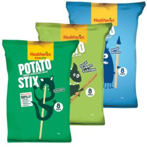 Healtheries Kidscare Potato Stix - Sour Cream & Chives