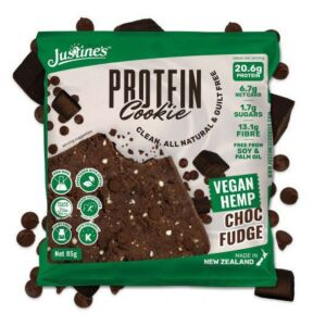Justines Vegan Protein Cookie - Box of 12