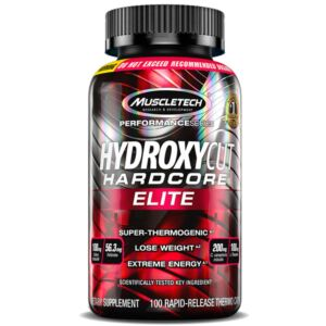 MuscleTech Hydroxycut Hardcore Elite 110 caps