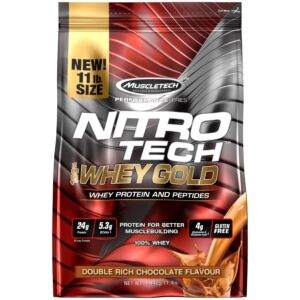 Muscletech Nitro-tech 100% Whey Gold 11Lb Bag
