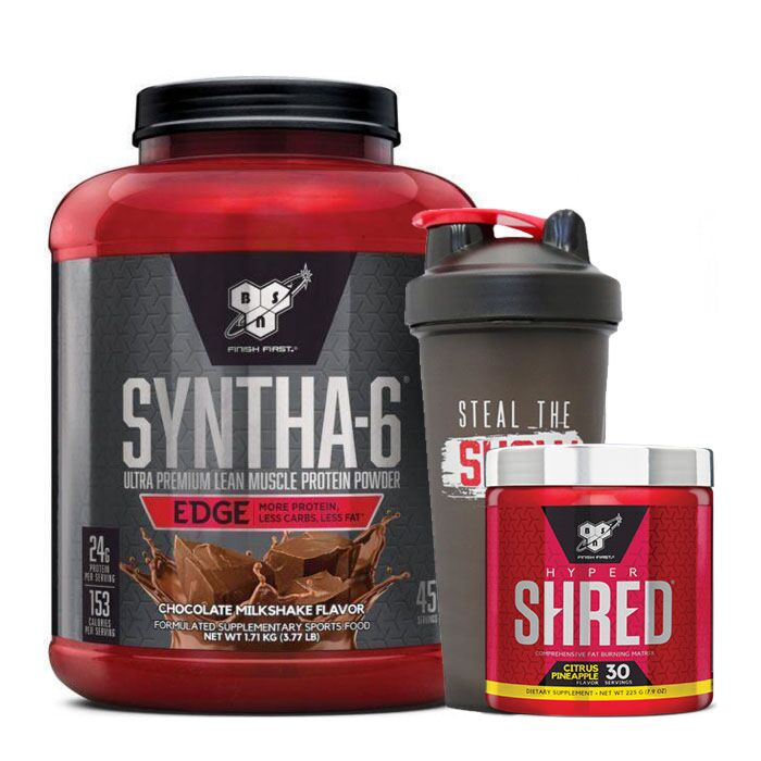 BSN Syntha-6 Edge + Hyper Shred Stack
