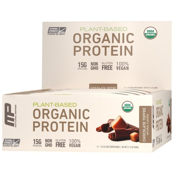 Musclepharm Organic Plant Protein Bar