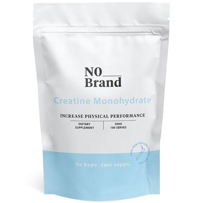 No Brand Creatine Monohydrate Powder