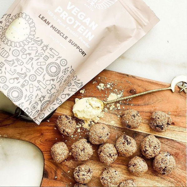 NZM Cookie Dough Protein Bliss Balls