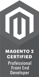 Certified Magento 2 Front End Developer