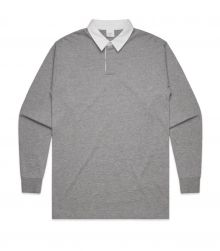 Plain Cotton Rugby Jersey