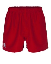 Polyester Professional Short Flag Red