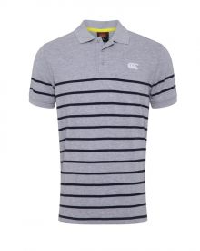 Plus Size Engineered Stripe Polo Classic Marle