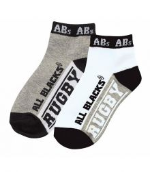 All Blacks 2 Pack Kids Socks