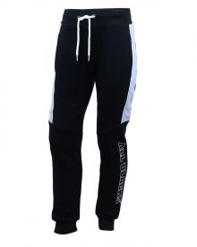 All Black Kids Contrast Fleece Trackpant