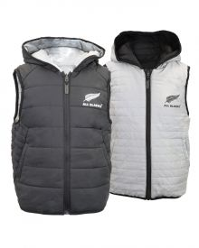 All Blacks Kids Reversible Puffer Vest