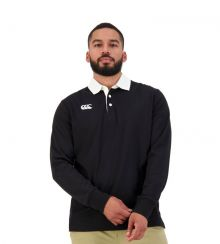 CCC Retro Rugby Jersey Black