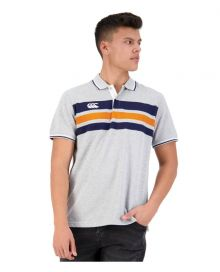 CCC Chest Stripe Polo Classic Marle
