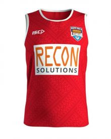 Tonga League Replica Training Singlet 2018