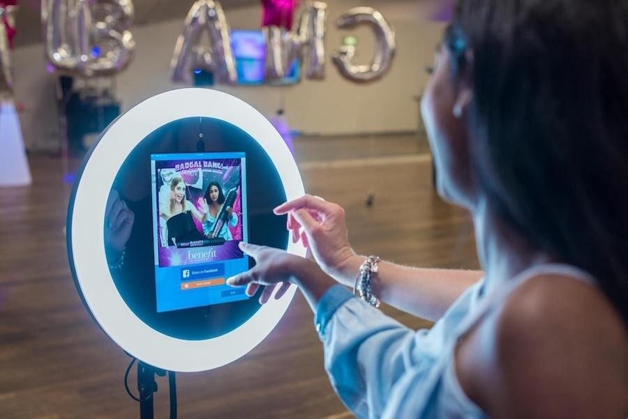 Social Photo Kiosk -  Ring Lights