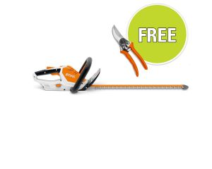 STIHL HSA 45 Hedgetrimmer with Free accessory