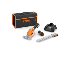 STIHL HSA 26 Small Battery Hedge Trimmer & Grass Trimmer Kit