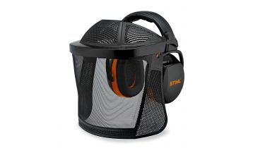 STIHL Muffs with a Steel Mesh Visor