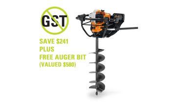 STIHL BT 131 Petrol Earth Auger & Free Accessory