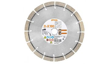 Diamond Abrasive Cutting Wheel D-X100 Universal (230 mm)