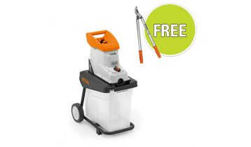 STIHL GHE 135 L Electric Garden Chipper with Free accessory