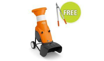 STIHL GHE 150 Electric Garden Chipper & Free Accessory