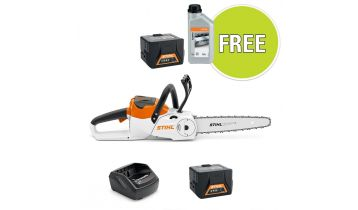STIHL MSA 120 C-B Battery Chainsaw with Free Accessory