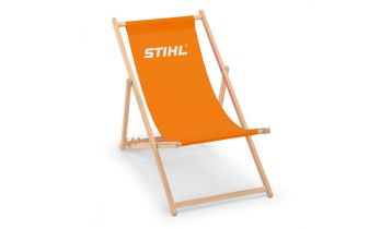 STIHL Wooden Deck Chair