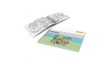 STIHL Childrens Colouring Book with Pencils