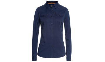 STIHL Womens Flannel Shirt Blue