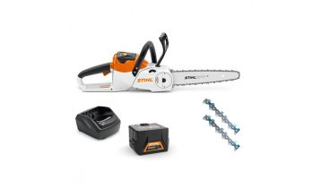 STIHL MSA 140 Chainsaw With Battery & Charger & Free Accessory