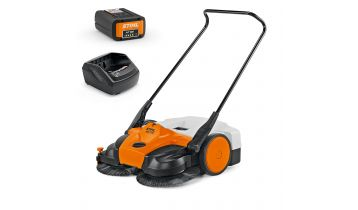 STIHL KGA 770 AP Battery Electric Sweeper Kit