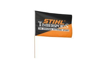 STIHL TIMBERSPORTS Wooden Flag (60 x 40 cm)
