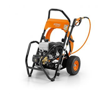 Front side of the STIHL RB 600 Petrol Water Blaster