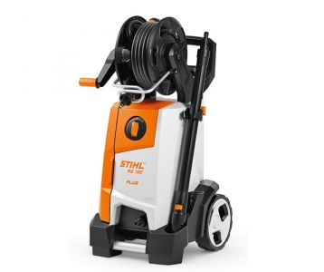 Front side of a STIHL RE 130 PLUS Electric Water Blaster