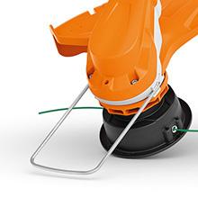 STIHL FSA 60 R Grass Trimmer Spacer Bracket Protects Plants