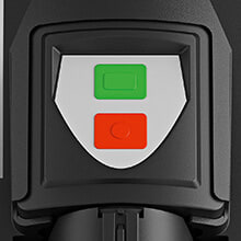 STIHL GHE 250 S feature: Touch pad switch