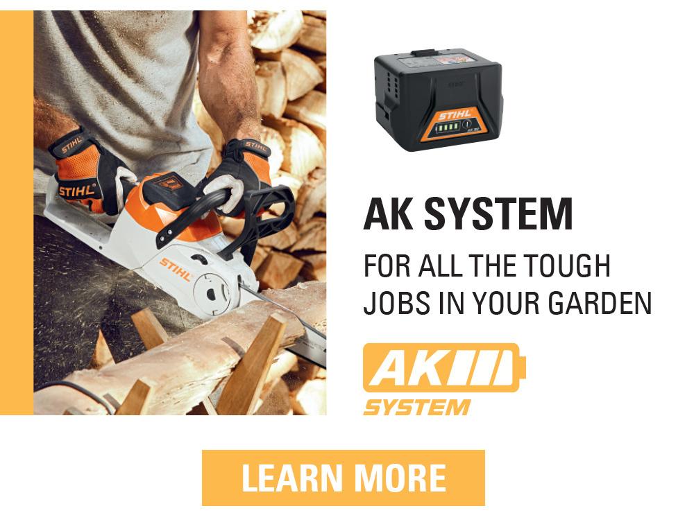 STIHL AK battery system