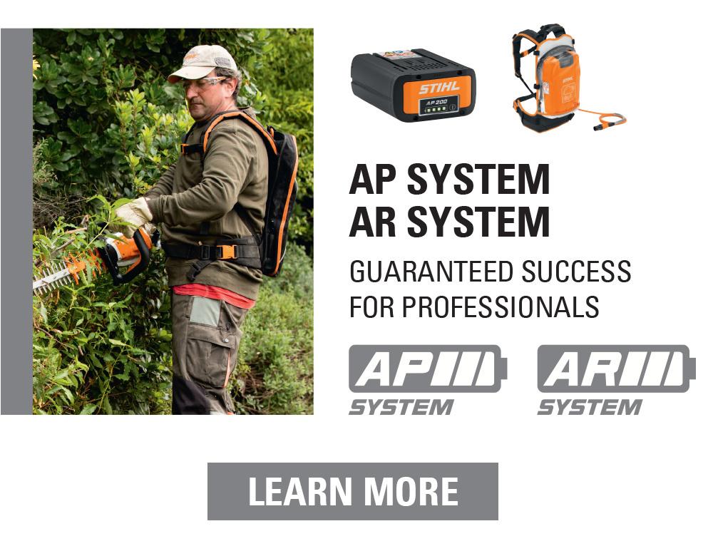 STIHL AP battery system