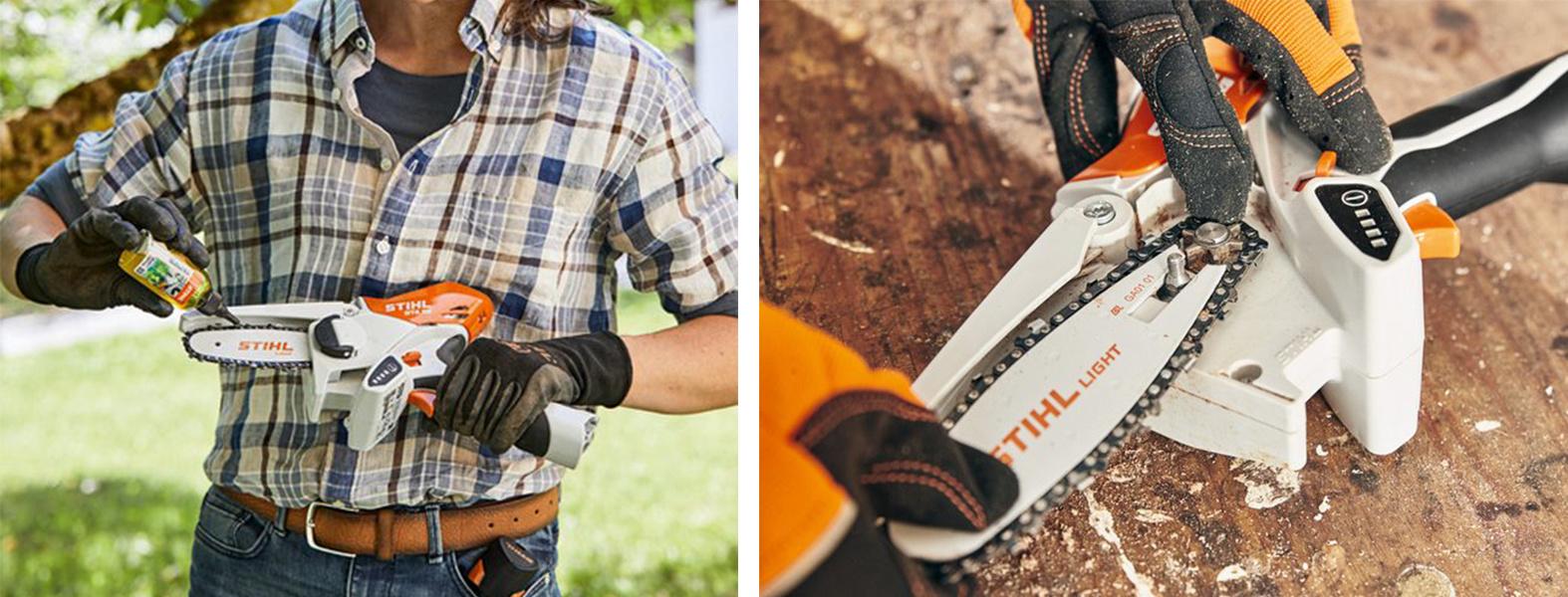 STIHL GTA 26 Handheld tree pruner Multioil bio Chain
